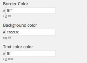 Color Customization - WP Notification Bar