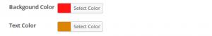 Color Customization -Icegram