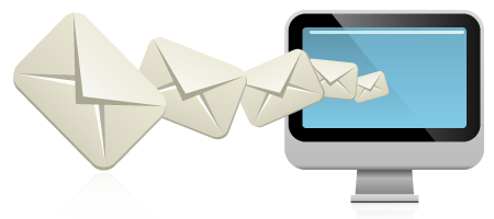 Engage customers using emails