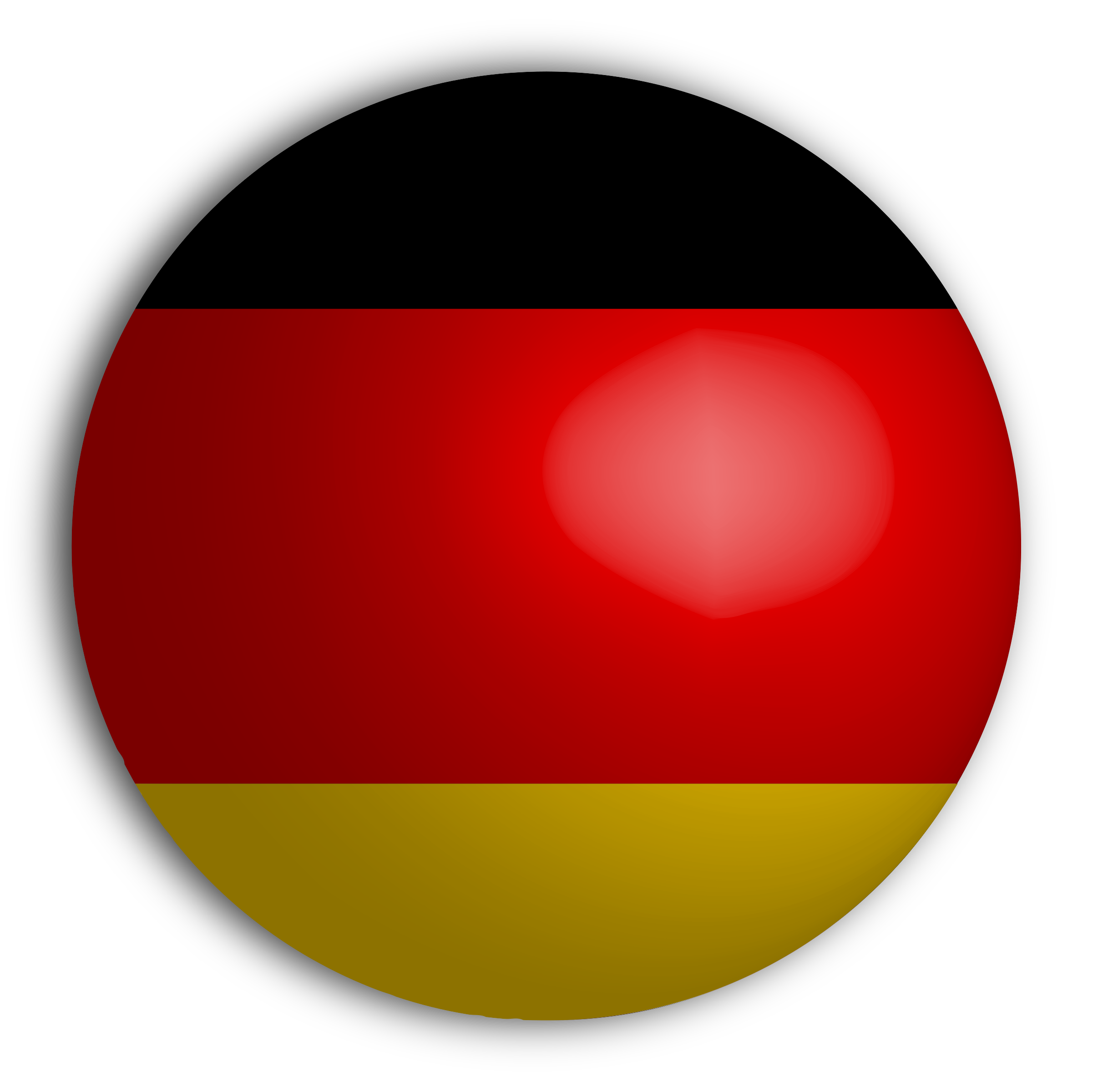 German-Flag-Sphere