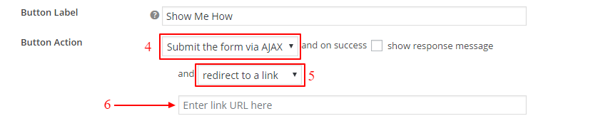 Redirect Users to a New Page after Submitting the form