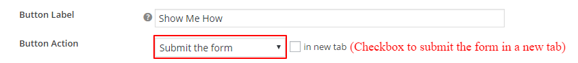 Submit the form on CTA Button click
