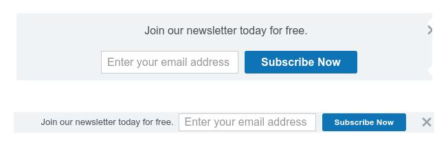 SumoMe Smartbars 2 free default themes