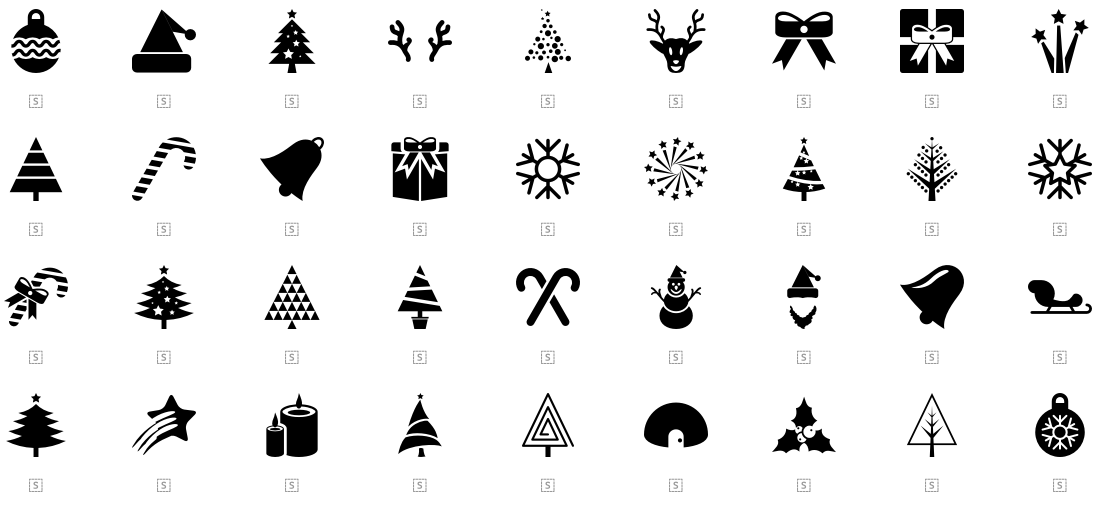 Collection Of Free Christmas Resources Icons Hd Images