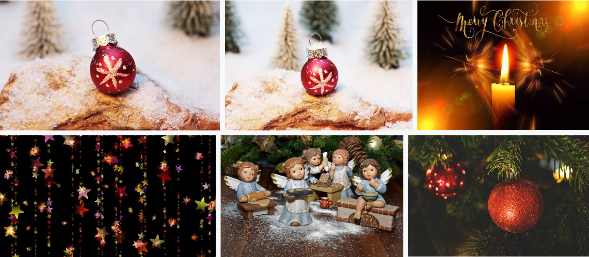 free Christmas resources pixabay images