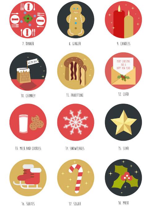 free Christmas resources smashing magazine icons