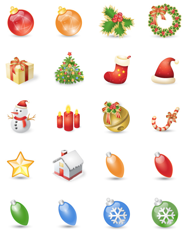 Free Christmas resources webneel icons