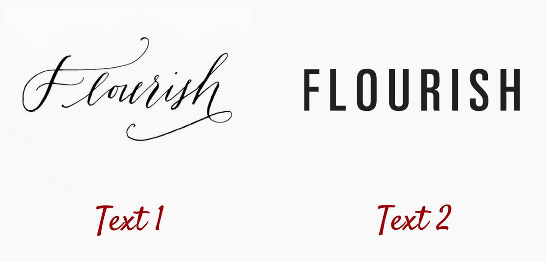 Flourish example