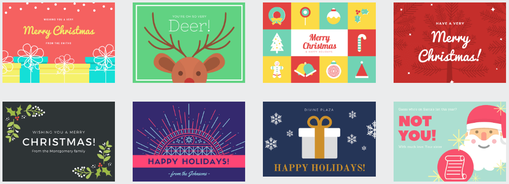 Free Christmas resources cards