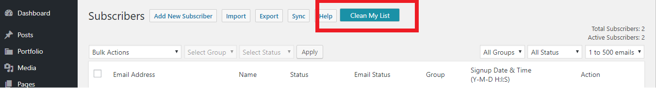How to mark email address as a spam OR How to prevent spam signups