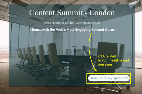 blog optimization using cta