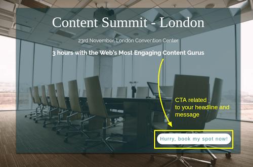 blog optimization using cta