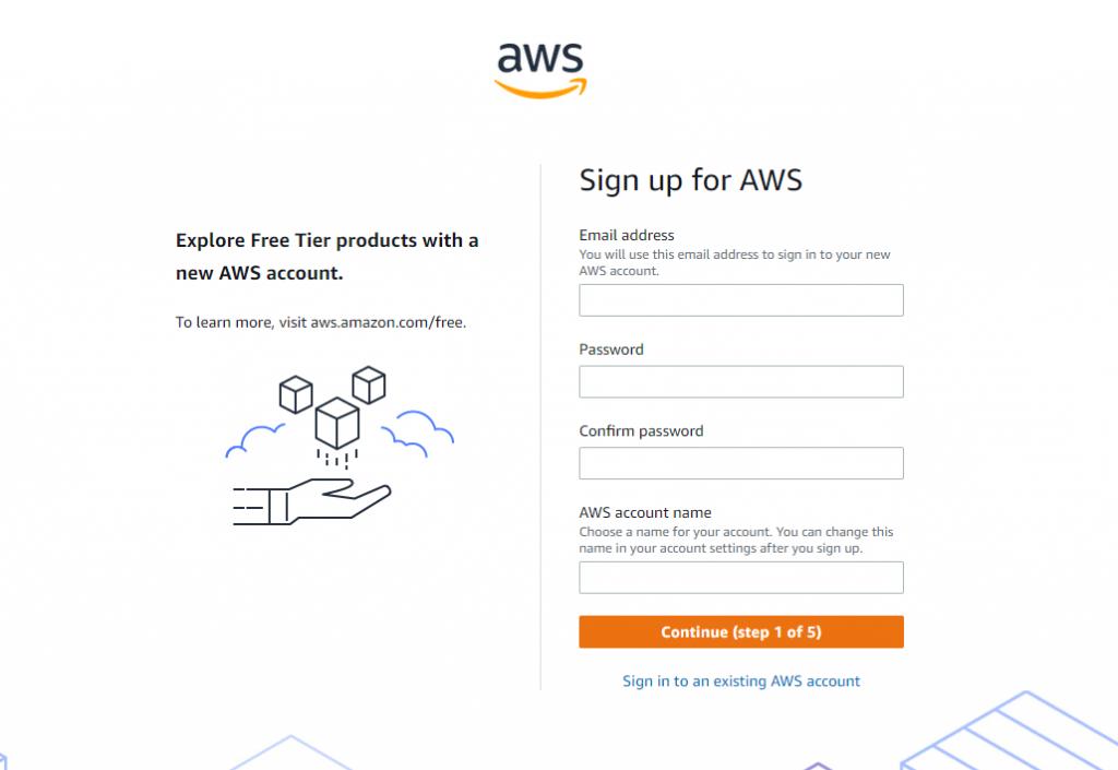 Create AWS account