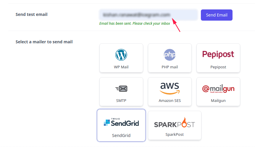 Test Email from Email Subscribers