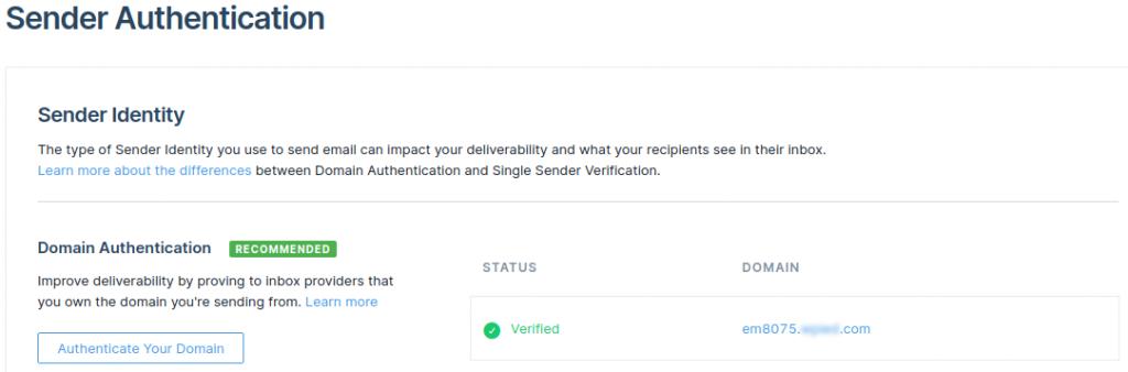 Verification status
